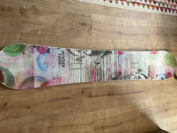 Deska snowbordowa TRANS 156cm Używana