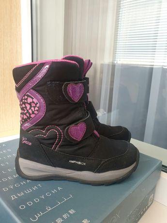 Сапоги  зимние ботинки Geox