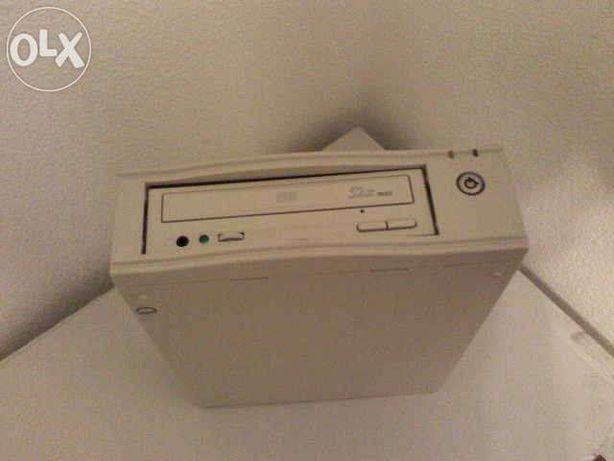 Caixa de cds ou dvd externo