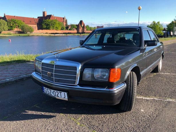 Mercedes S Klasa W126 420 SEL 224KM NAJBOGATSZA WERSJA