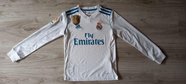 Koszulka sportowa Real Madryt Adidas na ok  9 -10lat