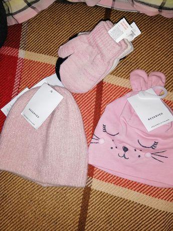 Шапочки рукавички Reserved