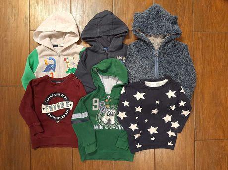 Bluzy, sweter rozm.86 H&M, inne