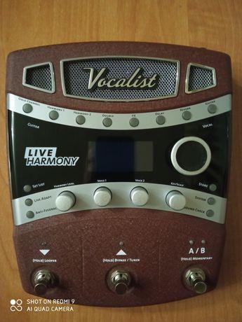 Вокальний процессор процесор ефектів Digitech vocalist live harmony