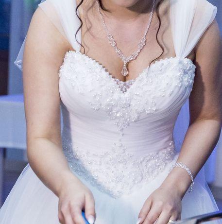Suknia ślubna XS 34 Princessa biała!
