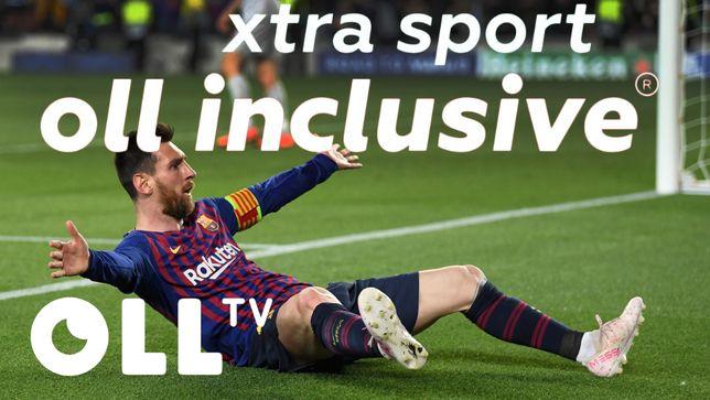 Подписка OLL TV- Скретч карта на Тариф - OLL Inclusive Xtra Sport!