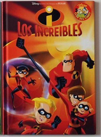 Los increibles - książeczka po hiszpańsku