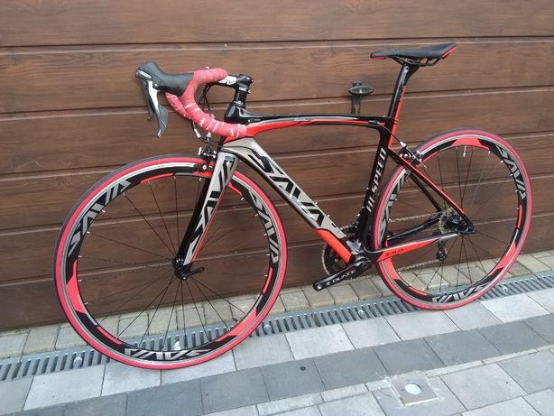 Rower szosowy kolarzówka SAVA 2x10 Shimano Tiagra KARBON CARBON rama M