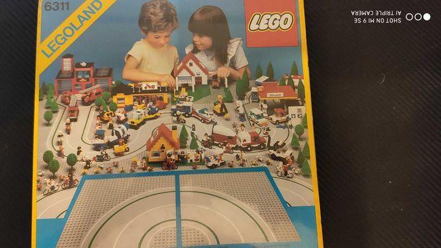 LEGO 6311 placas / bases curvas SELADO de 1986
