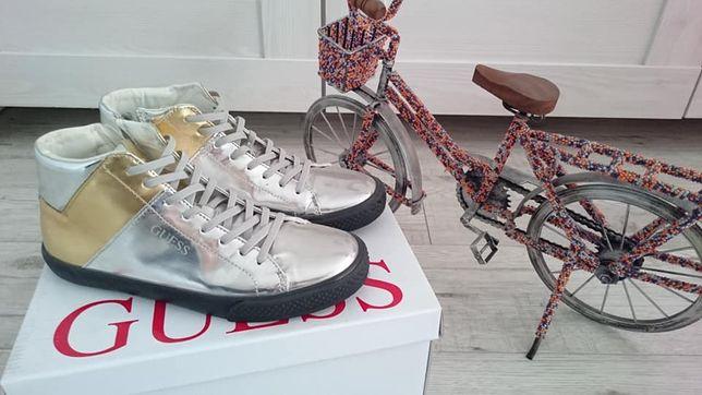Sneakersy guess jak nowe!