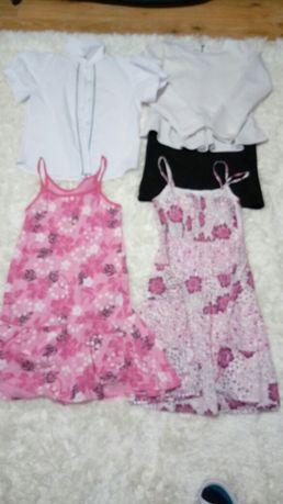 Wizytowa koszulka i sukienka + letnie sukienki