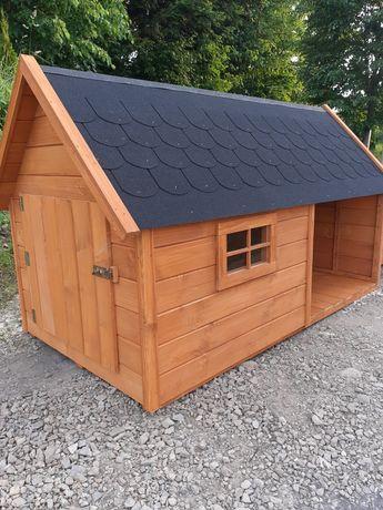 Drewniana Buda dom dla psa XXXL
