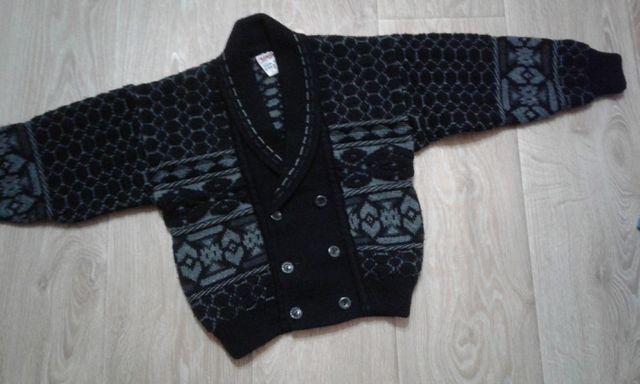 Теплая кофта / куртка на мальчика (Италия) на 4-6 лет