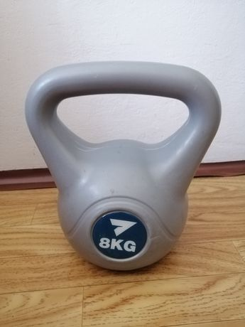 8 kg. Kettlebelle /ćwiczenia gimnastyczne /