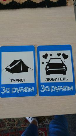 Наклейка наліпка на авто за рулем