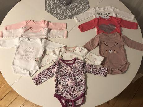 Body niemowlęce dla dziewczynki 56/62