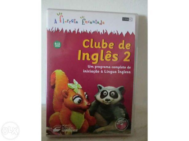 """Dvd interativo Clube de Inglês 2 """"A floresta encantada"""""""