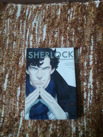 "Manga ""Scherlock Studium w różu"""