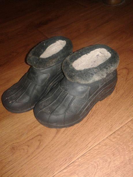 Ботинки пенки теплые на мальчика
