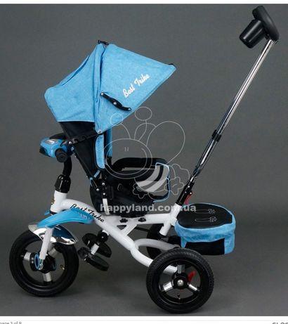 Детский трёхколёсный велосипед с поворотным сиденьем Best Trike