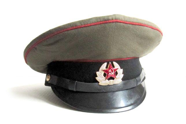 czapka galowa wojsk pancernych byłego ZSRR
