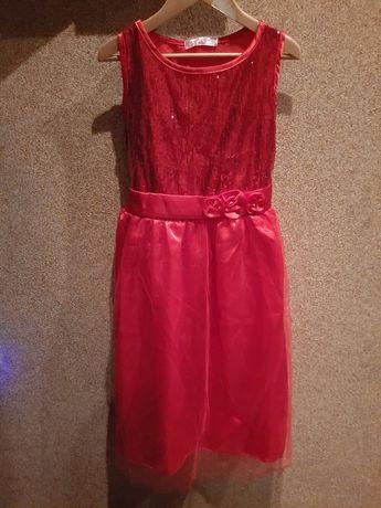 Платье для девочки, на утренник, новогоднее праздничное