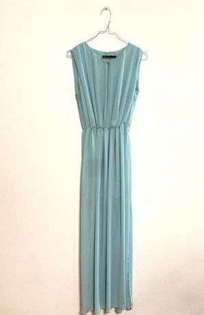 Massimo Dutti | Vestido de Cerimonia Azul
