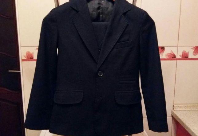 Школьная форма, костюм темносиний 3-ка. Р.34