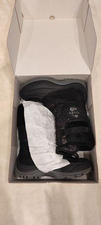 Śniegowce dziewczęce Stups 33 włoskie 21cm buty zimowe