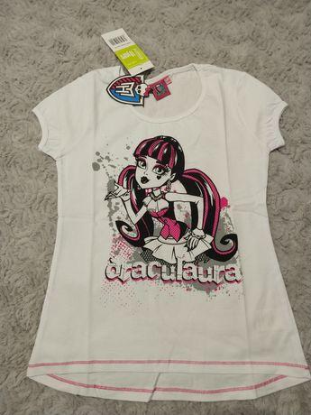 Bluzka T-shirt Monster High 140 164 cm