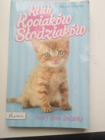 Książka klub kociakow słodziaków