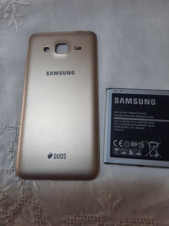Bateria e tampas Samsung galaxy j3 só hoje 10 euros