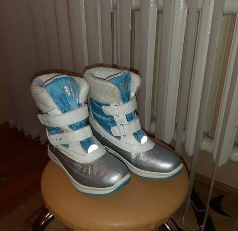 Зимние термо ботинки р.37