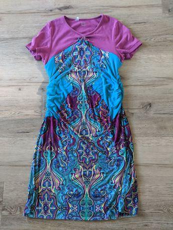 Sukienka do swobodnego karmienia piersia rozm 38