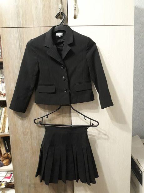 Костюм пиджак юбка школьная форма