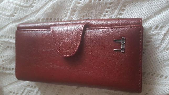 Skórzany portfel Dunxilu