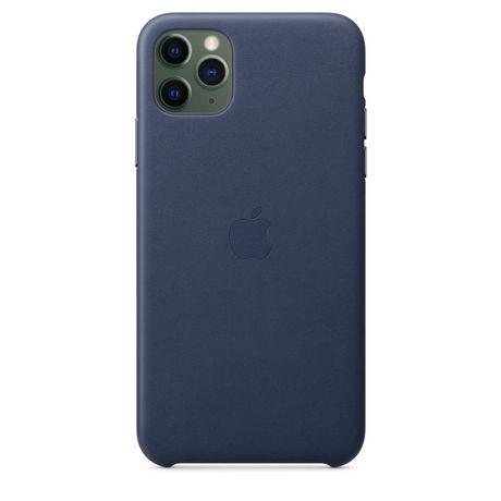 Capa Apple iPhone 11 Pro Max Azul em Pele Original Selada