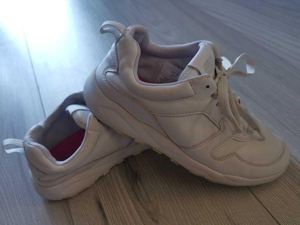 H&M białe buciki r 35