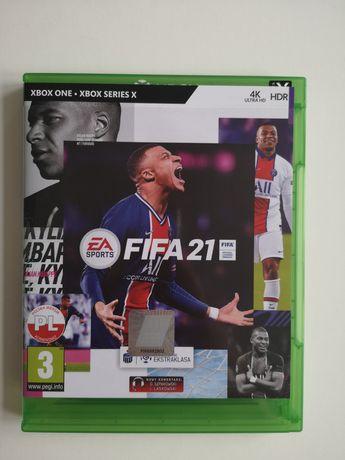 Gra FIFA 21 na Xbox One - Xbox Series X