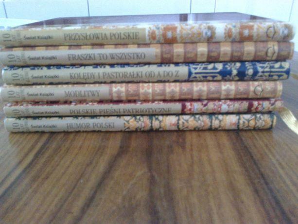 komplet 6 książek