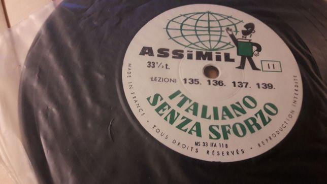 """,,Italiano senza sforza"""" vinil"""