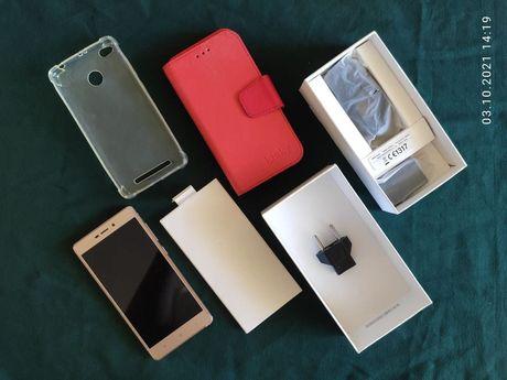 Xiaomi Redmi 3s PRO 3/32 GB + полный комплект + 2 чехла