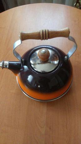 Чайник со свистком времен СССР