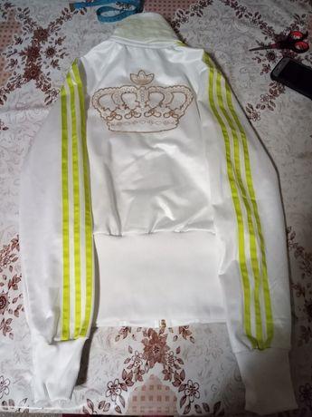 Biała bluza damska Adidas