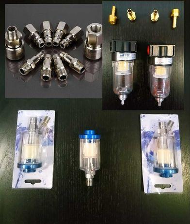 Filtros Pintura/Compressor/Adptadores