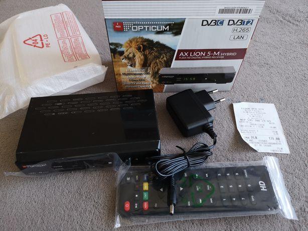 Dekoder tv dvbc i dvbt Opticum AX Lion 5-M