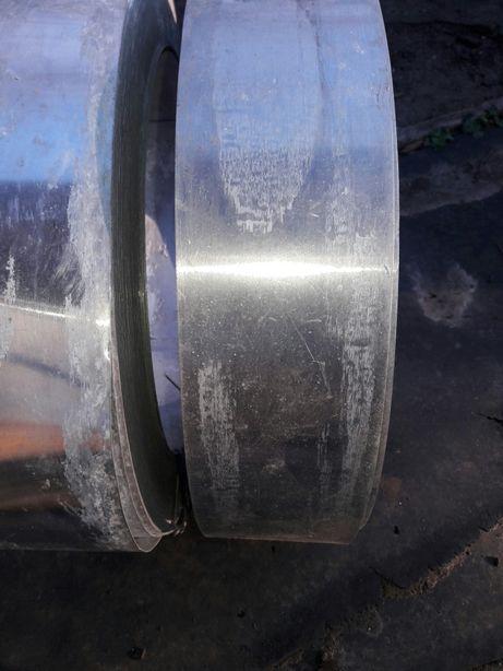Лента алюминиевая (пищевой алюминий) 100×0.55 мм 38 кг.