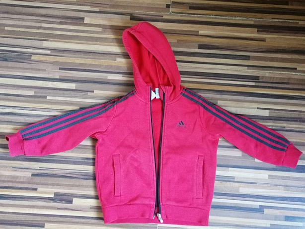 Bluza Adidas 116 chłopięca czerwona