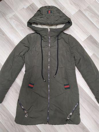 Зимня куртка хаки