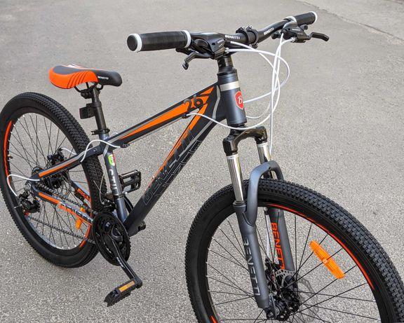 Новый детский велосипед, алюминиевая рама, 26 колеса